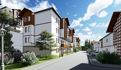 ARTVİN , 3. Bölge 334 Konut, 6 Dükkan, 1 Lise, 1 Sağlık Ocağı, 1 Jandarma ile Altyapı ve Çevre Dzn.